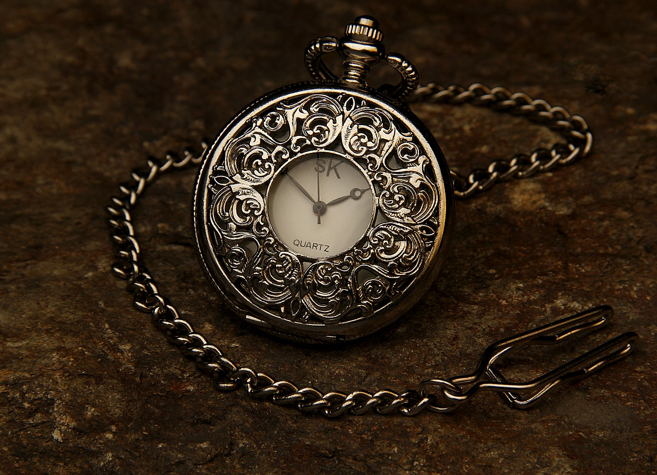 Antique classical pocket watch