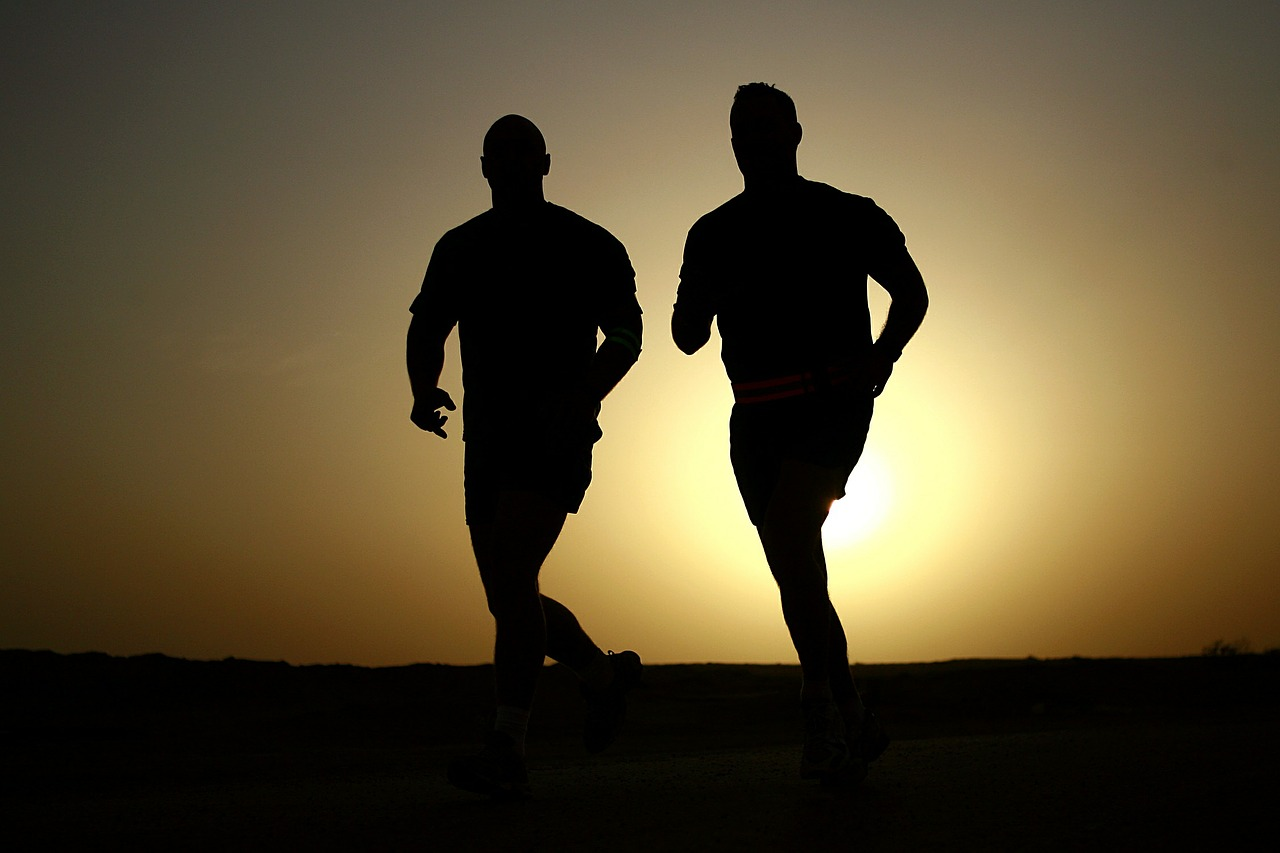 men running men's health