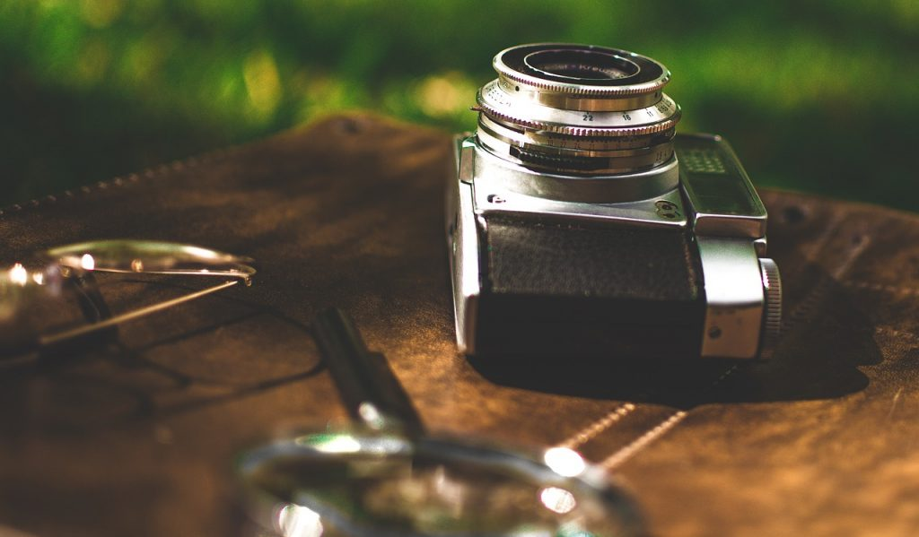 photography camera and lens