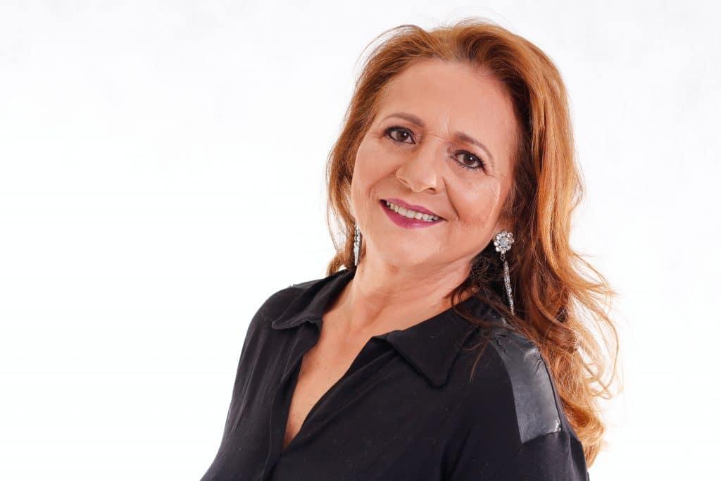 Mature Woman Cosmetic Makeup