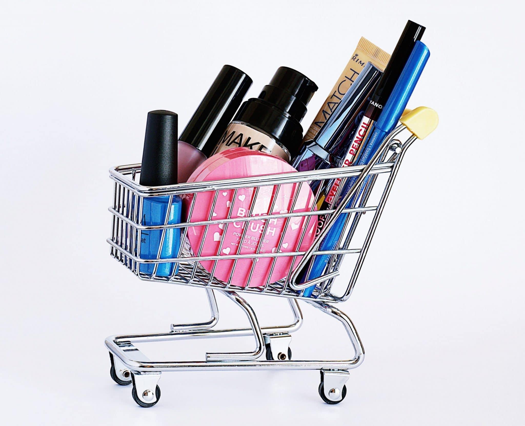Cosmetics Makeup Shopping Lipstick