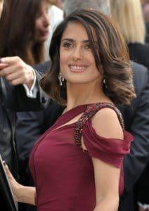 Salma Hayek Celebrity Breast