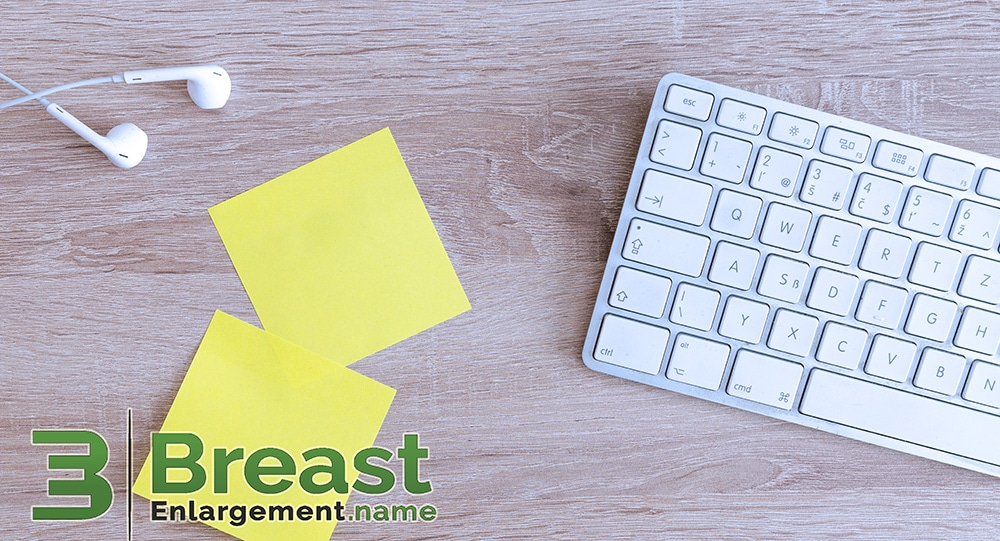 Post-Its, Listening to Recordings, Using Apps to Keep Motivated to Breast Enlargement