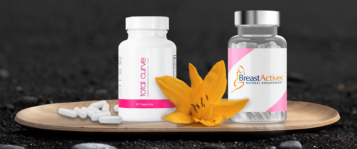 TotalCurve vs BreastActives Breast Enhancement Pills